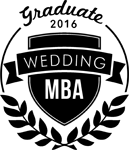 Wedding MBA graduate 2016